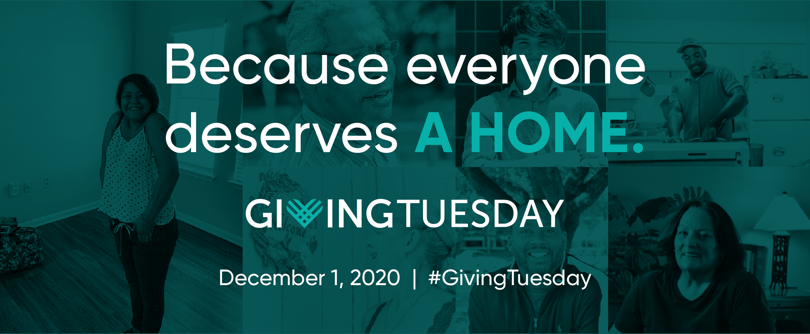 Giving Tuesday: Because everyone deserves a home.
